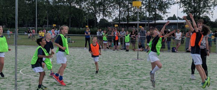 Foto's schoolkorfbal 2019