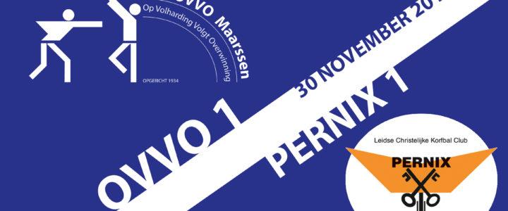 Goalvideo's OVVO 1&2 tegen Pernix 1&2