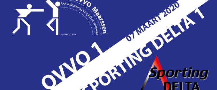 OVVO 1 pakt belangrijke punten, OVVO 2 helaas net niet