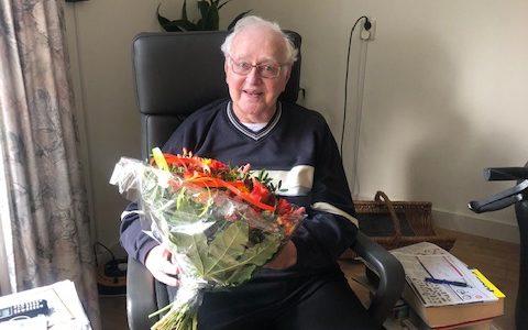Jan de Wit 60 jaar lid!