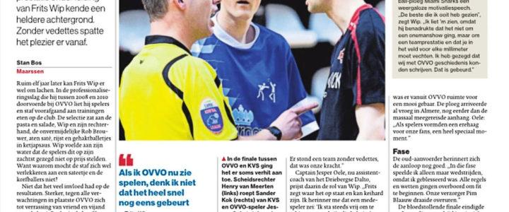 AD/Utrechts Nieuwsblad: Succesploeg zonder vedettes.