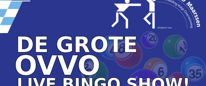 De grote OVVO LIVE BINGO SHOW! (link)