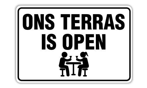 Terras bij OVVO gaat a.s. zaterdag 12 juni open!